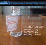 bottiglia rotonda alta del polacco di chiodo del contenitore di vetro 3ml-16ml per le estetiche
