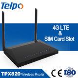 ウェブサイトのSIMのカードスロットが付いているホーム無線WiFiモデム4G