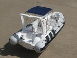 Aqualand 5.8m 19feet Hypalon Rib Boat /Motor Boat/Rigid Inflatable Boat com Center Console (RIB580CC)