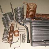 Una bobina más fresca (acero inoxidable, cobre, aluminio)