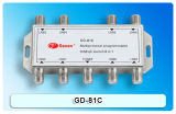 8in1 Sat / CATV Diseqc Switch avec certification CE