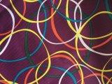 Tessuto stampato cuore variopinto 100% di Oxford 300d del poliestere per i vestiti di pattino/indumenti esterni
