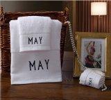 Логос вышивки полотенца ванны гостиницы, полотенце ванны гостиницы 140X70cm 32s 550g