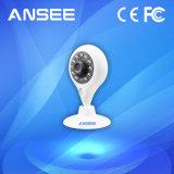 câmera sem fio do IP de WiFi do baixo custo de gravação video da câmera do IP de 720p PTZ com a micro ranhura para cartão do SD