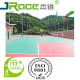 Краска анти- выскальзования кислотоупорная, поверхность спорта покрытия баскетбольной площадки PU кремния