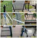 Cerca de acero doble del jardín del acoplamiento de alambre del cercado de seguridad 358