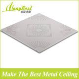 Azulejos de aluminio perforado techo suspendido