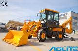 kleiner Löffelbagger-Traktor der Kapazitäts-1000kg mit schneller Anhängevorrichtung