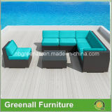 新しいDesign 7PCS Rattan Sectional Sofa Set Outdoor Furniture