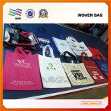 Impression faite sur commande de sacs non-tissés réutilisables pratiques somptueux de promotion
