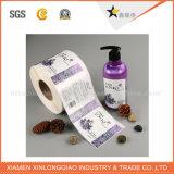 OEMの防水材料が付いている印刷によってカスタマイズされる化粧品のラベル