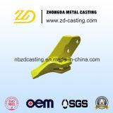 Soem-Wannen-Zahn mit legierter Stahl-Investitions-Gussteil