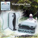 Wasserdichter super großer Plastikfliegen-Fischerei-Kasten-Koffer