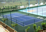 Plancher de court de tennis de résistance d'abrasion pour le professionnel et l'amateur (bronze d'argent d'or de tennis)