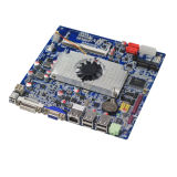 Aktien 478 betteten industrielles AMD Prozessor-Motherboard ein