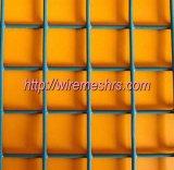 Engranzamento de fio revestido do PVC Weldled