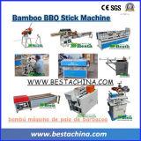 Vara do BBQ que faz a máquina, Skewer de bambu que faz a máquina
