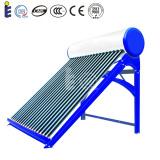 Sistema de energía solar integrante del calentador de agua del tubo de vacío de la No-Presión