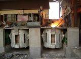 MittelfrequenzKgps Induktions-schmelzende Maschine mit dem Kippen des Ofens