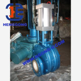 Válvula de porta cerâmica da flange pneumática de API/DIN/JIS Wcb
