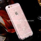 Случай мобильного телефона новой ясности диаманта кристаллический