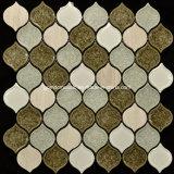 Mosaico de cerámica del melocotón del crujido al por mayor del hielo para 2016