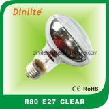 R80-B22 E26 E27 40W 60W Ampoule bleue réflecteur
