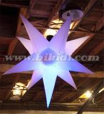 LED Light Changeable Color Inflatable Lighting Estrelas C2028