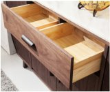 Cabinet&Sideboard (SC002)를 식사하는 MDF+Red 오크재 베니어