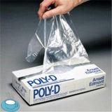 Guanto trasparente del PE 0.6g dell'HDPE di plastica