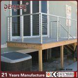 Pasamanos del metal del diseño moderno para las cubiertas (DMS-B2540)