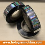 Sellado caliente de la hoja de la seguridad del holograma de plata del rodillo
