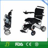 Constructeur pliable de luxe de fauteuil roulant d'énergie électrique