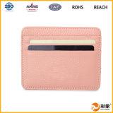 Suporte de cartão de couro novo, suporte de cartão da identificação. Suporte de cartão do crédito!