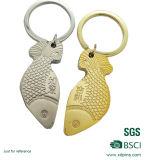 Beau trousseau de clés animal mignon en métal de forme pour la promotion