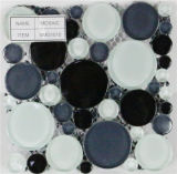 円形のタイプガラスモザイク(VMG1010)