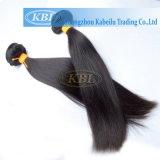 自然で黒いインドの人間の毛髪の拡張