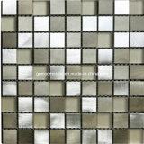 2016 azulejos de mosaico de cristal mezclados de aluminio de la alta calidad