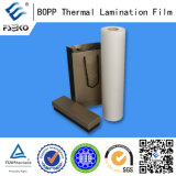 25mic BOPP Glossy Themal Laminating Film für Box Coating