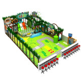 Plan empresarial de interior del equipo del patio de los niños
