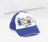 Baseballmütze des Jungen mit Applique-/verschluß zurück bedecken Hut mit einer Kappe