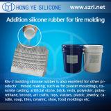自由なシリコーンゴムのサンプルタイヤはRTVのシリコーンゴムを形成する