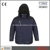 Куртка ткани Ripstop равнины обслуживания OEM людей куртки Workwear