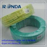 Verde 70 milímetro quadrado 300V fio de cobre de 105 graus