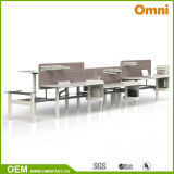 Workstaton (OM-AD-016)를 가진 2016 새로운 Hot Sell Height Adjustable Table