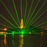 5W Outdoor Landmark Single Green Laser DJ Light