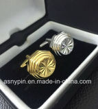 Серебр и Gold Plating Best Brass Cufflinks Set