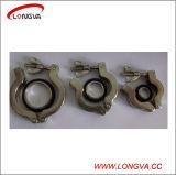 Bride en aluminium de vide de Kf d'acier inoxydable de qualité