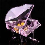クリスマスのギフト及びバレンタインのギフトのための美しい水晶ピアノ