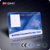 125kHz IDENTIFICATION RF sans contact en plastique Smart Card pour le contrôle d'accès